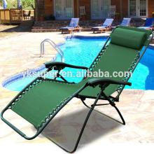Cadeira de lazer dobrável com função reclinável, cadeira reclinável dobrável