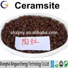 Herstellerversorgung Wasseraufbereitungsmaterialien 2-4mm Natürlicher Ceramsit / Ceramsit-Sand