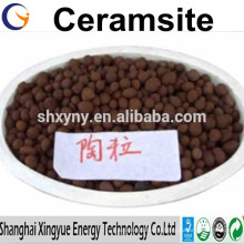 Manufacturer supply Water Treatment Materials 2-4mm Natural Ceramsite / Ceramsite Sand