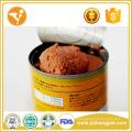 Влажная корм для собак Природная собака лечит здоровые куриные вкусы Оловянная пища