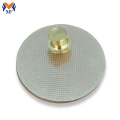 Metal craft custom gold metal plating button badge