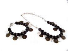 fashion necklace and bracelet