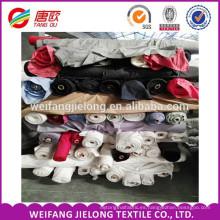 tela de popelina de spandex de algodón de valores stock de popelina de pocillos de tela de algodón de alta calidad