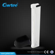 Hecho en China lámpara de emergencia led recargable portátil de iluminación