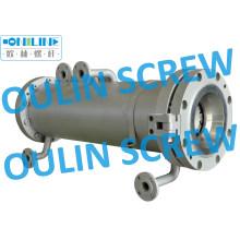 Screw and Barrel for Semirigid PVC Fabric
