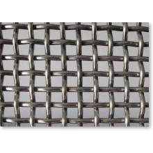 Malla de alambre prensada con orificios cuadrados