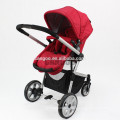 2015 fancy big EVA wheels europe style baby stroller for twins
