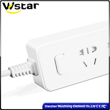 3 Hole Digitals with 3 USB Ports Extension Socket