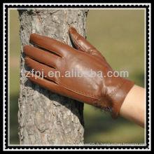 Europe et Amérique gant de peau de peau de dindon pour femme