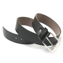 Чёрный & коричневый pu кожаный ремень