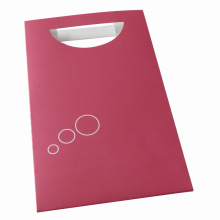 Printed Paper Shopping Bag with Die-Cut Handle