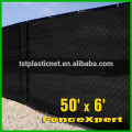 90% UV Block Outdoor Sunscreen Shade Panel, Taped edge with Grommet, Black, 8x10ft