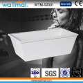 Popular Cheap Acrylic/ABS Bath Tub Freestanding