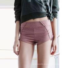 Yoga Wear Side String Short para mulheres