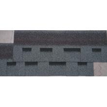 Tuile de toiture grise / bardeau d'asphalte de Johns Manville / matériau de toiture auto-adhésif (ISO)