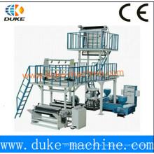 Ruian Kunststoff-Folien-Blasmaschine für zweischichtige Coextrusion (SJ * 2)