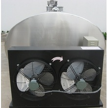 Refrigerated milk cooling storage tank