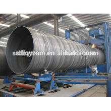 SSAW bs1387 3PE welded steel pipe