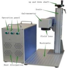 fuente de fábrica portátil 20W máquina de marcado de instrumentos médicos personalizados