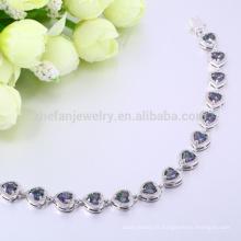 Usine premier bijoux aaa zircon pierres bracelet bracelet