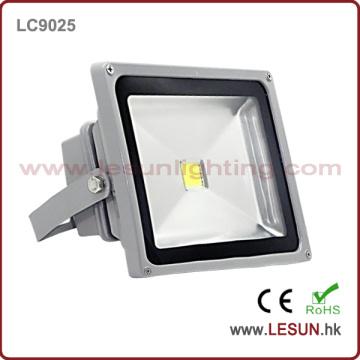 Lumière d'inondation de l'argent IP65 50W LED pour l'éclairage de tunnel (LC9025)