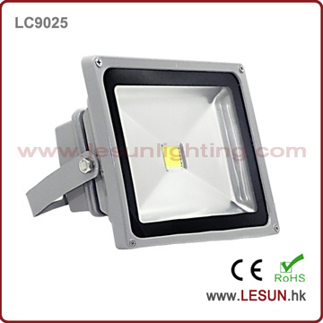 IP65 prata 50W LED de luz de inundação para iluminação de túnel (lc9025)