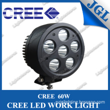 New Design 60W CREE LED Driving Light IP67 LED Work Lamp Light Spot/Flood Work Light Motorcycle Tractor Truck Trailer SUV for Jeep 4WD Offroads Boat 9-32V