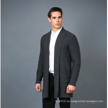 Suéter de la mezcla de la cachemira de la manera de los hombres 17brpv086