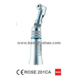 Dental handpiece low speed contra angle