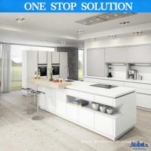 Minimalistische Stil Weiße Farbe Küchenschränke