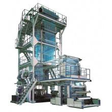 China Drei-Schicht LDPE HDPE MLLDPE EVA Co-Extrusion Film Blown Maschine in Ruian Makeplastic Taschen