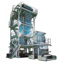 China Máquina soplada película de la coextrusión del HDPE MLLDPE EVA del LDPE de tres capas en los bolsos makeplastic de Ruian