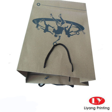Brown Kraft Paper Bag Customized Dengan PP Handles