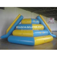 0.9mm PVC Tarpaulin Durable Inflatable Water Slide WS10 for