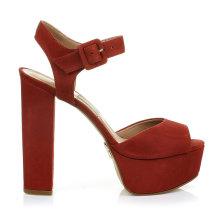 2015 New Ladies PU or Leather Women Slipper Sandal Shoes Desgin