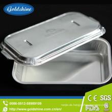 Einweg-Lebensmittelbehälter Aluminiumfolie Materialien