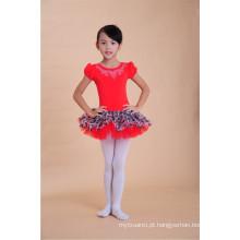 estilo coreano bebê meninas dança vestido tutu vestido vestidos de balé