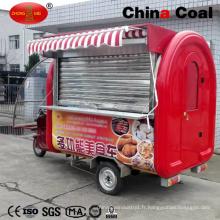 Remorques mobiles de camion de nourriture à vendre