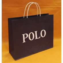 POLO white kraft paper bag