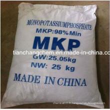 Agriculture Fertilisant 99% 98% MKP (0 52 34)