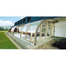 Aluminium en alliage d'aluminium Sunlight Greenhouse
