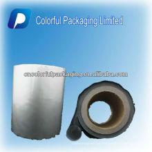 rollo de papel de aluminio película de rollo / bolsa de café rollo de película de embalaje / bolsas de plástico rollo de película