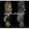 Фабрика продвижение современного интерьера светодиодные потолочные заподлицо светильники для дома роскошный зал Люстра