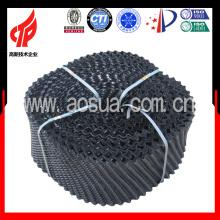 200mm Liangchi alto calor pvc flujo de contador redondo Cooling torre de relleno
