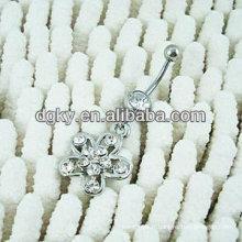 Stainles acier ventre bague anneau ombre ventre corps bijoux piercing