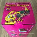 E-Flute Гофрокартон Печать Гофрированный складной упаковочный ящик для Hutch Hugger