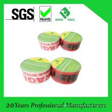 Ruban imprimé OPP pour l'emballage et le cachetage