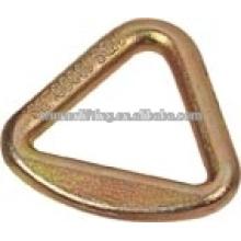 3inches gran forjado triángulo anillo