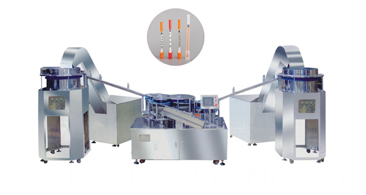 insulin syringe assembly machine