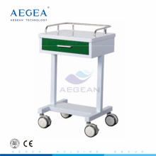 AG-GS007 Simple medication crash mobile nurse treatment used hospital 1 drawer cart